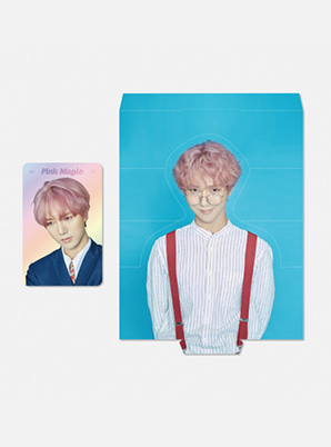 YESUNG HOLOGRAM PHOTO CARD SET - Pink Magic