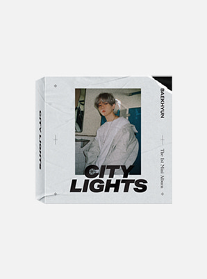BAEKHYUN 1st Mini Album 'City Lights' (Khino)