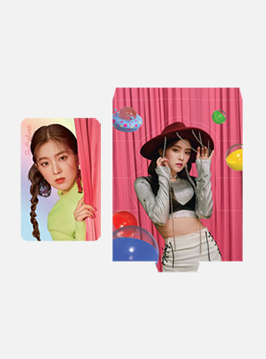 Red Velvet HOLOGRAM PHOTO CARD SET - 'The ReVe Festival' Day 1