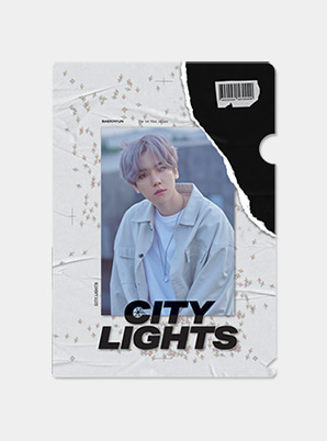 BAEKHYUN GLITTER HOLDER - City Lights