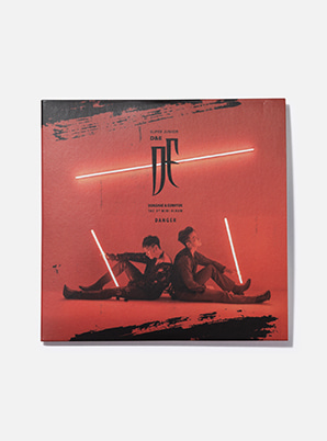 SUPER JUNIOR-D&E LP COASTER - DANGER
