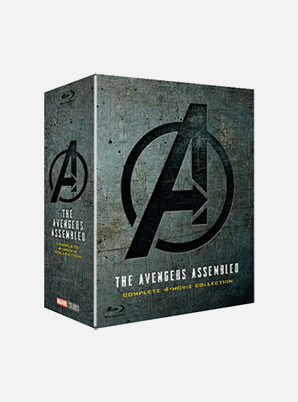 Avengers 1-4 Movie collection (2D Blu-ray)