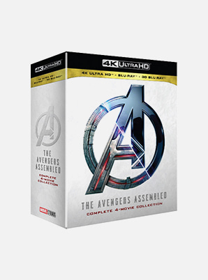 Avengers 1-4 Movie collection (4K UHD+2D BD+3D BD)