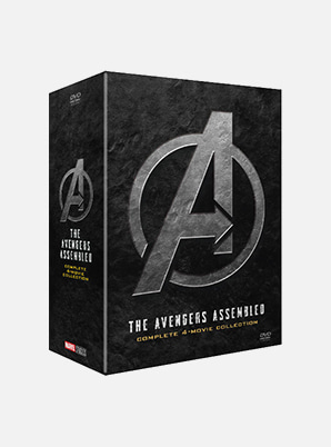 Avengers 1-4 Movie collection DVD
