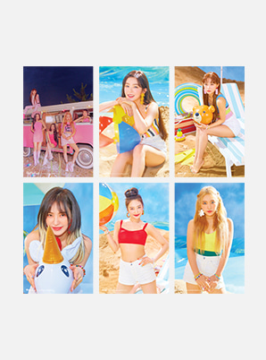 Red Velvet 4X6 PHOTO SET - 'The ReVe Festival' Day 2