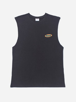 HAWAII SLEEVELESS - BLACK