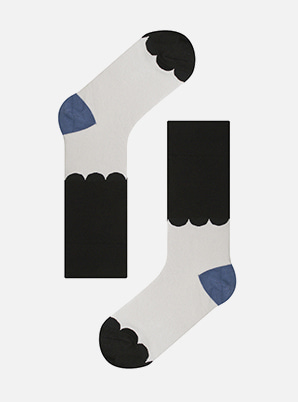 Socks appeal KBP LACE BLACK SOCKS