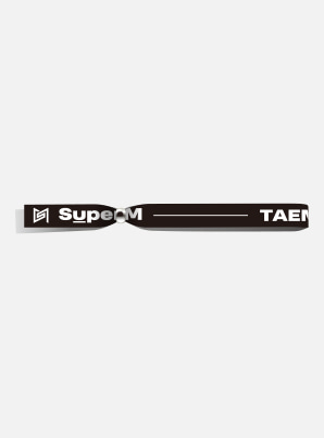 TAEMIN POP-UP FABRIC BRACELET - SuperM