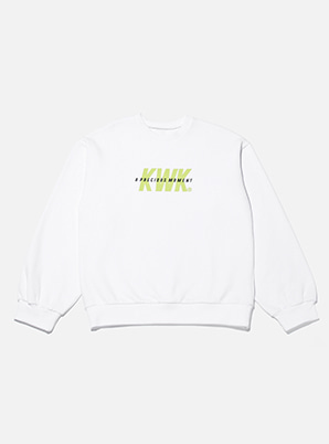 [A PRECIOUS MOMENT &P!CK] KICHWORK  collabo sporty sweatshirt