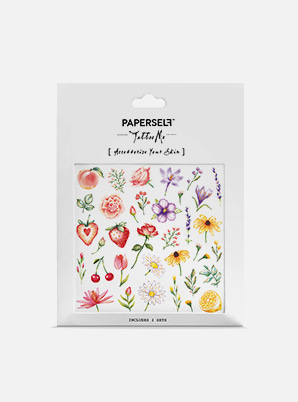 PAPERSELF Flowers & Fruits TATTOO STICKER