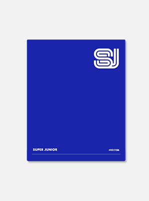 SUPER JUNIOR BINDER - Time_Slip