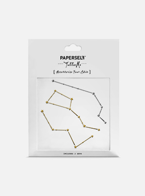 PAPERSELF Star-Crossed TATTOO STICKER