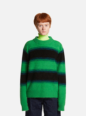 [STYLIST &P!CK] TRUNKPROJECT Angora Stripe Sweater