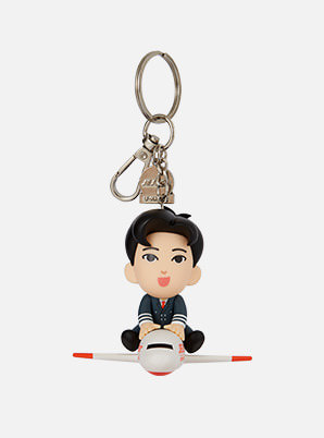 [TVXQ! &P!CK] JEJUair U-Know PILOT FIGURE KEY RING