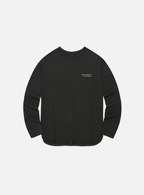 [STYLIST &P!CK] Pavement LINE LONG SLEEVE IA - CHARCOAL GREY
