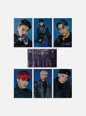 EXO 4X6 PHOTO SET - OBSESSION