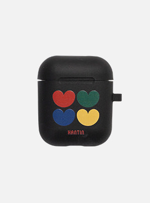 HANTIN 4 HEARTS AIRPOD CASE